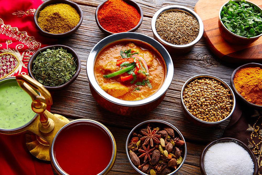 Indisk mad i Holte